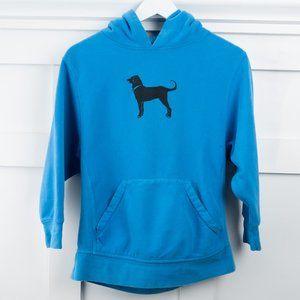 The Black Dog Hoodie Sweatshirt L